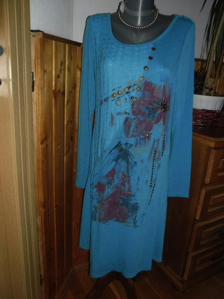 úpletové šaty, L