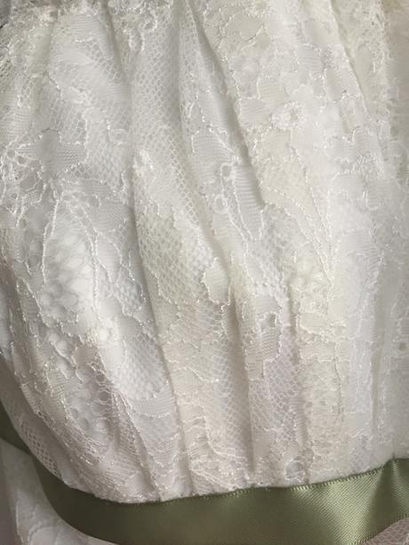Kratke krajkove svatebni saty Jasmine Bridal, 36