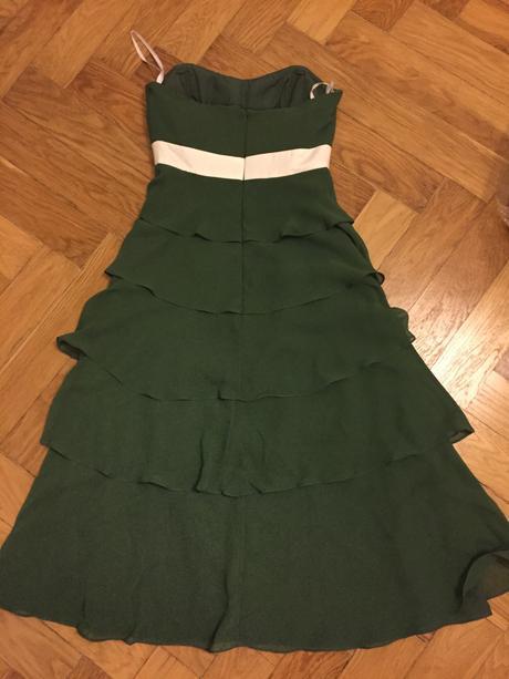 Zelene sifonove saty, 36