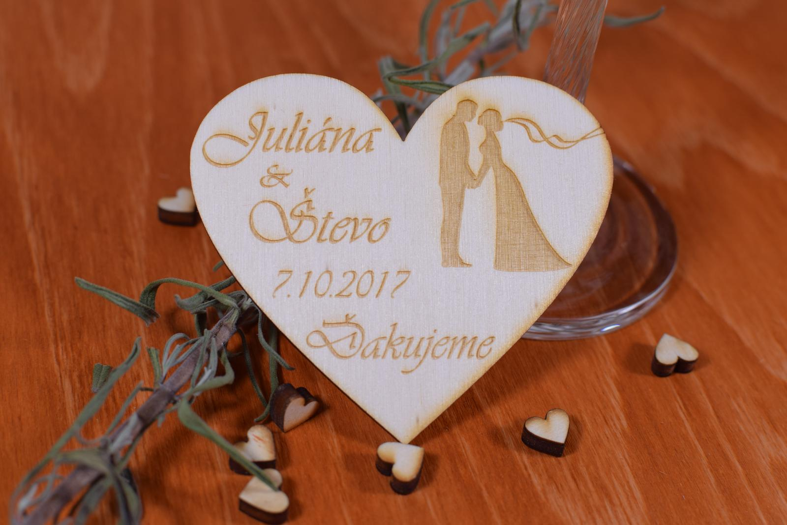 Fotogaleria darekov - svadobn dareky pre host - eshop