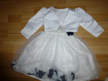 Šaty s bolérkem pro družičku vel.86-98, 92