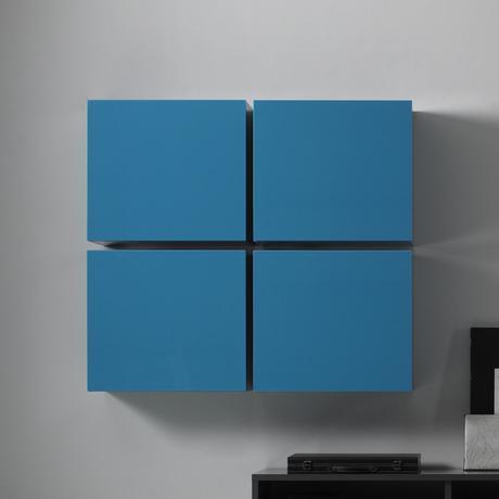Dizajnová obývačková zostava Cube Color,