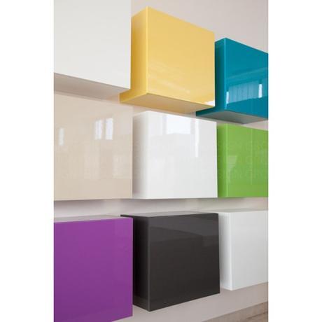 Dizajnový konferenčný stolík Cube Color,