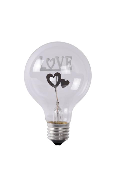 Led žiarovka  Love E27 3W  LUCIDE ,