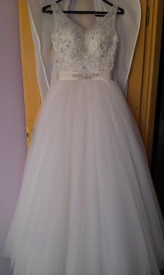 Svadobné šaty IVORY  XS/S, 36