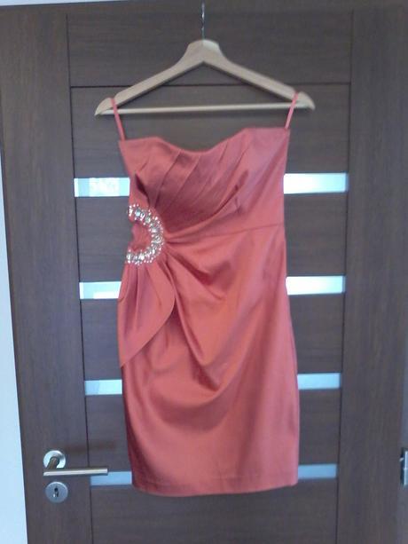 Saténové šaty Jané norman, 38