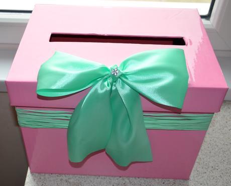 Krabice na svatební přání,