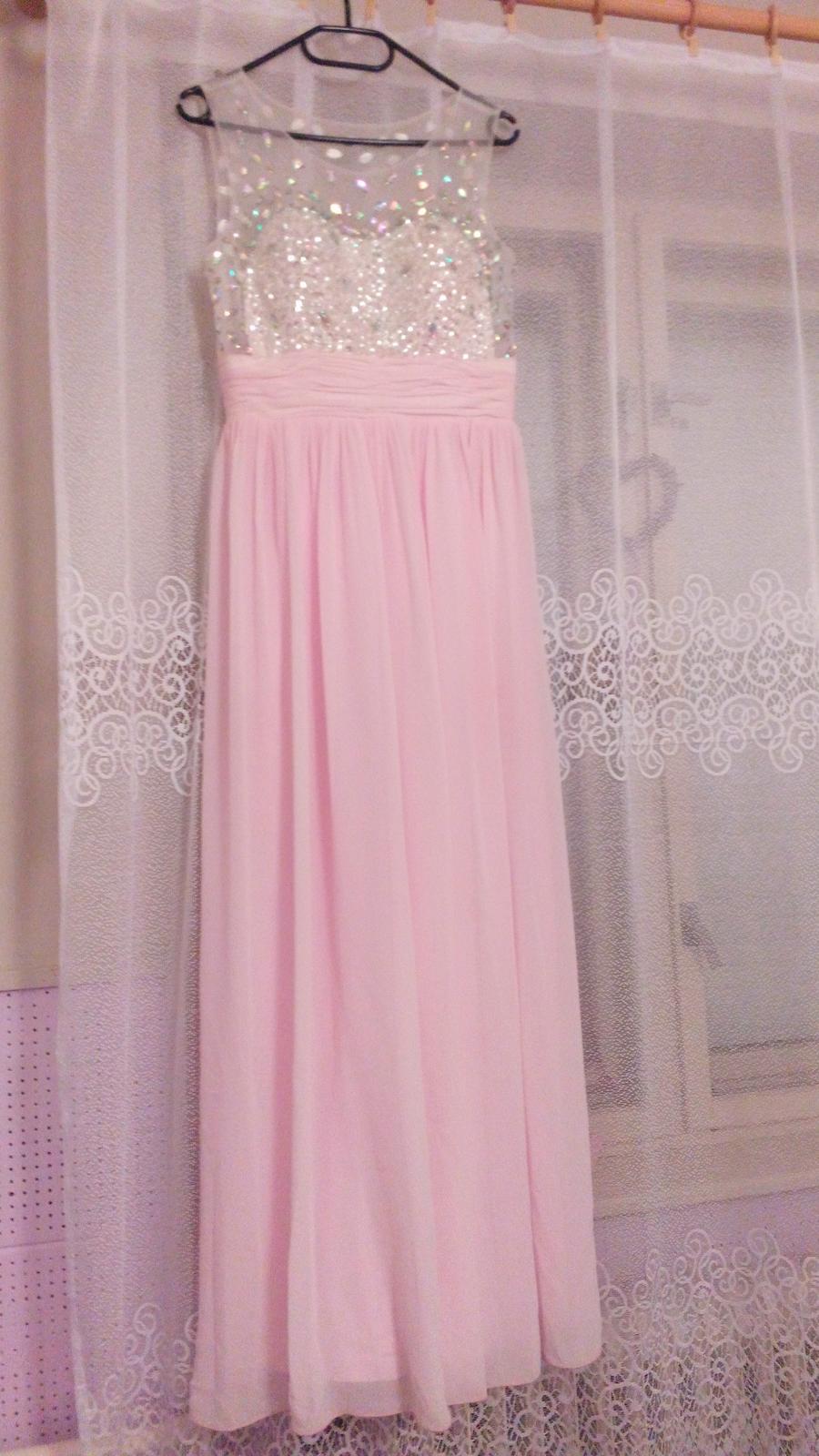 Ružové šaty d13edd9dbdf