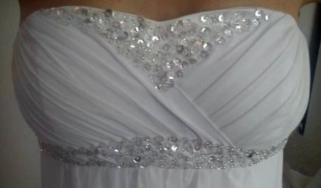 svatební šaty - i pro těhotné, 36
