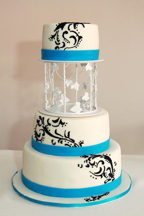 Separační altán na dort,
