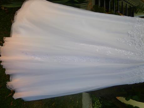 čipkované svadobné šaty 38, 40