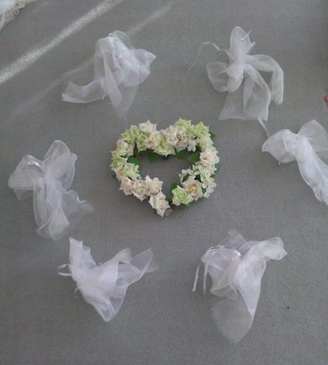 Sada na auto nevěsty,