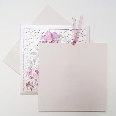 Svadobné oznámenia Maľované kvety,