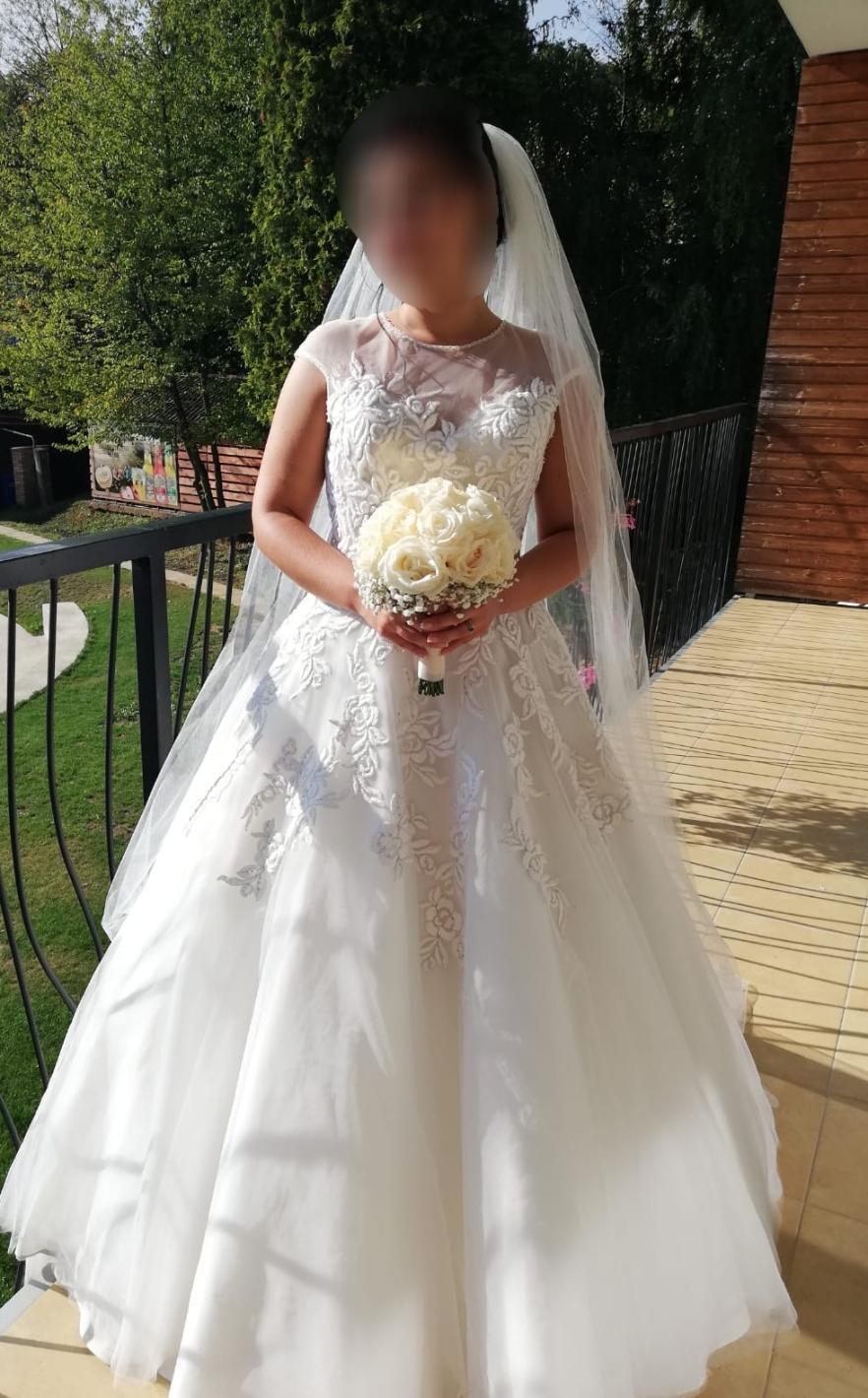 17f8bb11a240 Svadobné šaty talianskej zn. eddy k