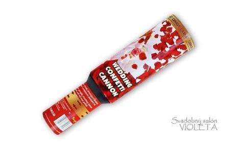 konfety cervene lupene ,