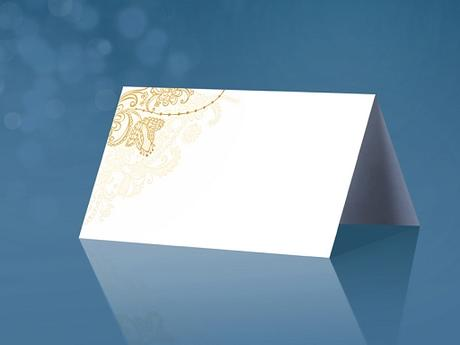 menovka zlatý ornament - 0,20 eur/ks - skladom,