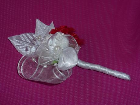svadobné pierko pre ženícha,