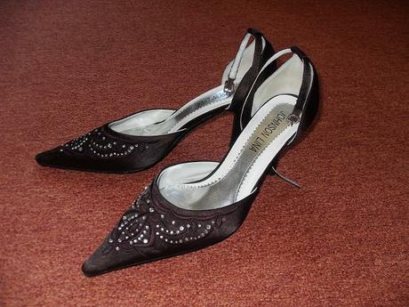 štrasove sandalky 38, 38