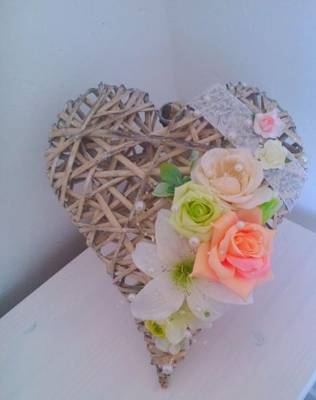 Srdce na zavesenie, alebo dekoráciu stola,