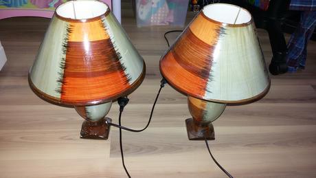 Nocne lampy. ,