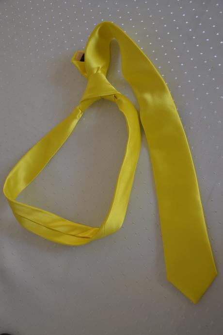 Šaty žlté , S