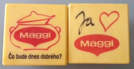 2 ks MAGGI magnetky,