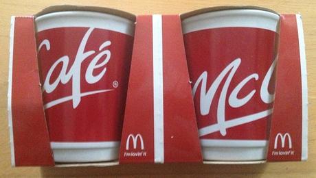 2 ks Mc Café šálky,