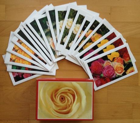20 ks pohľadnice ruží,
