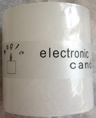 Elektronická sviečka,