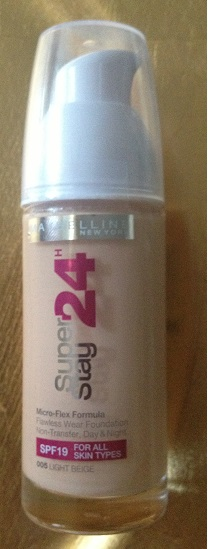 Maybelline NY 24 Super Stay Make up,