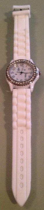 Silikónové hodinky,