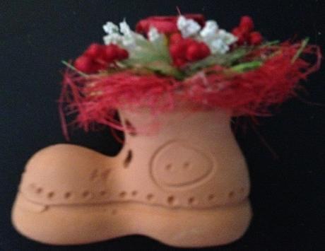 Topánka s kvetinou,