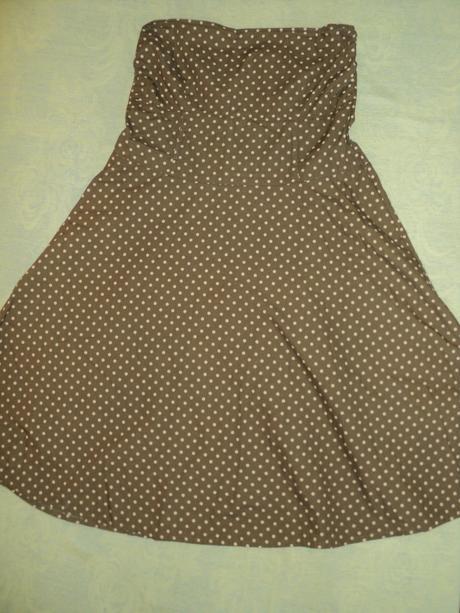 Bodkované šaty, XL