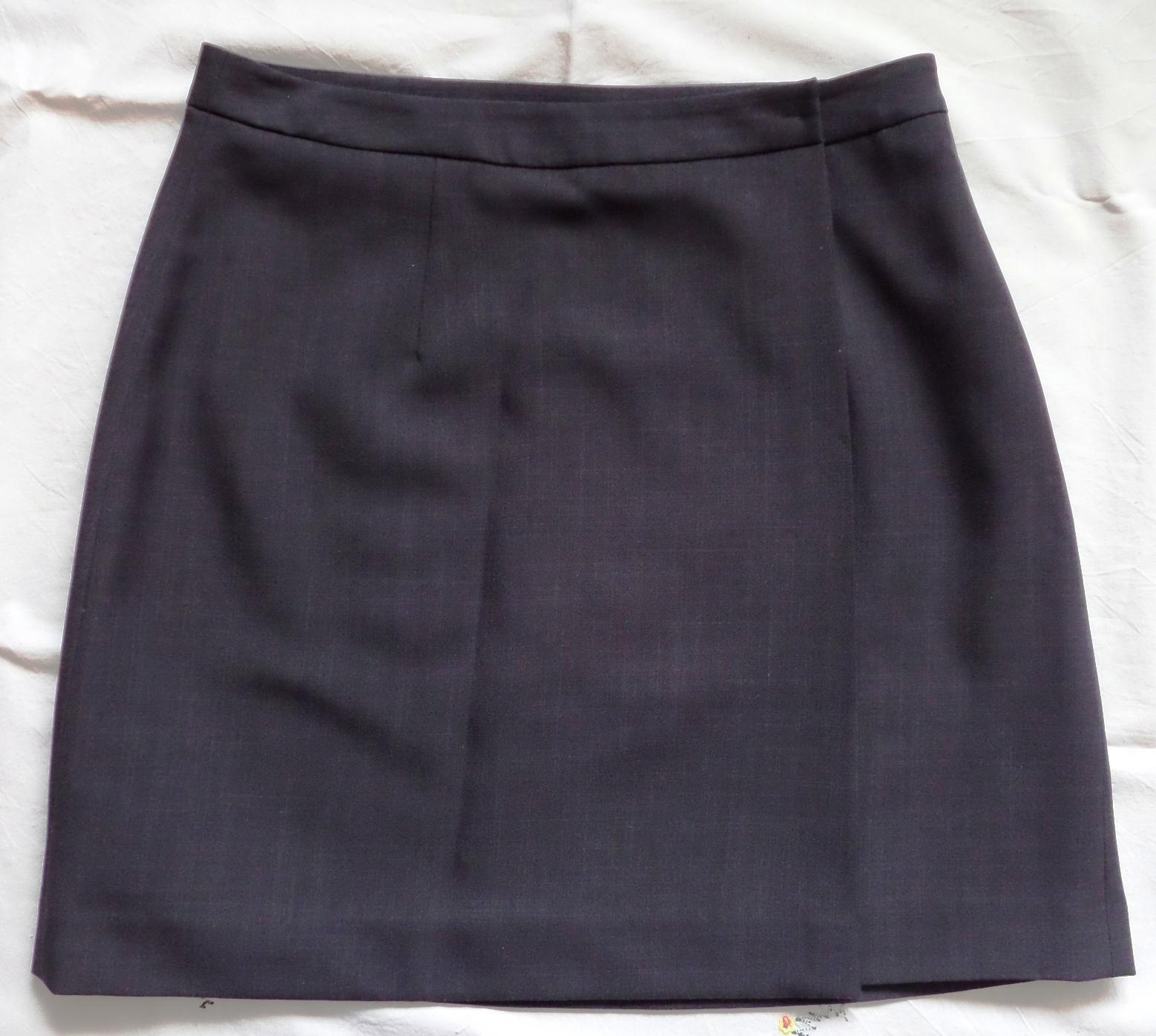 Zavinovací sukně s podšívkou  83c09db119