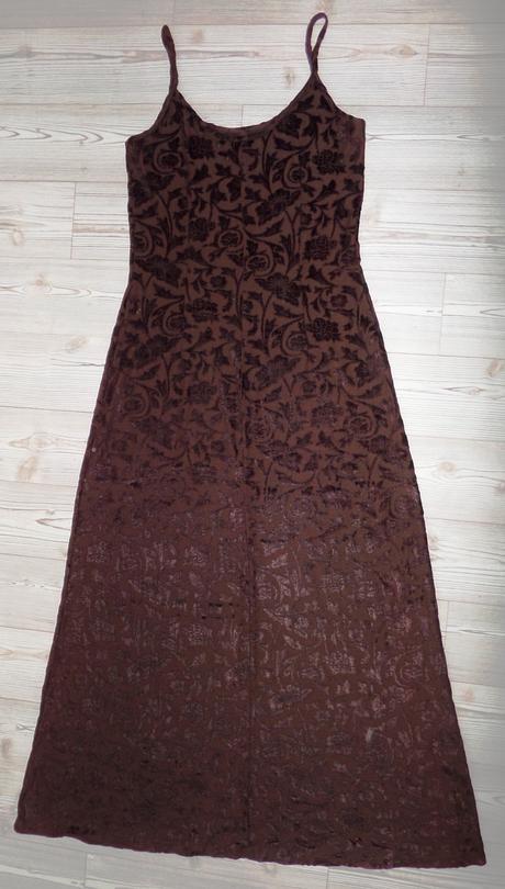 Zajímavé šaty s květinovým vzorem, 38