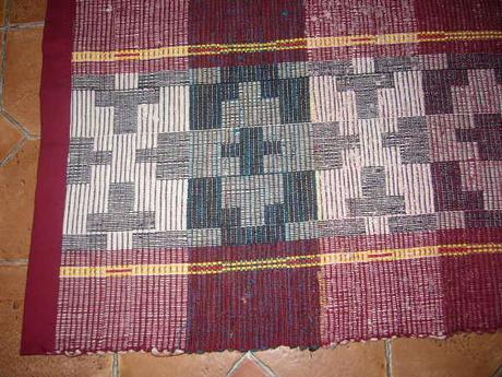 Ručne tkany koberec,
