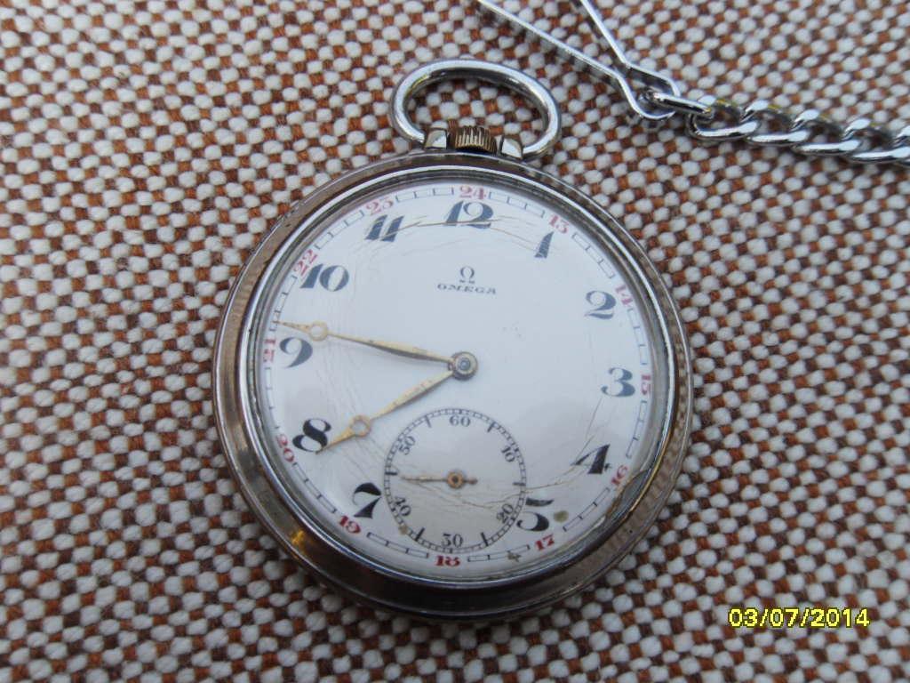 Vreckové hodinky omega 65612900470