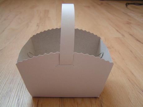Krabičky košíčky na cukroví,