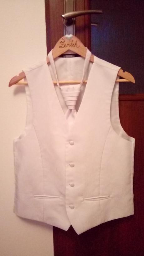 Set vesta, kravata, vreckovka, 48