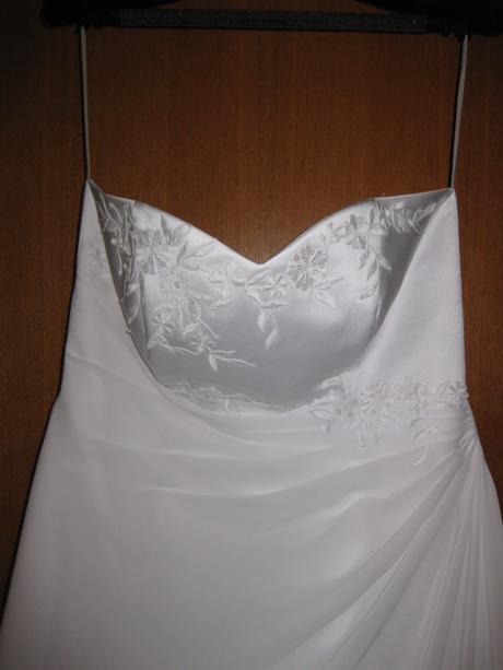 Jemné svatební šaty vel. 42 - 44, 44