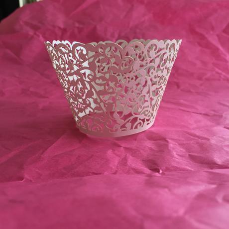 Krajkové košíčky na cup cakes nebo muffiny - 10 ks,