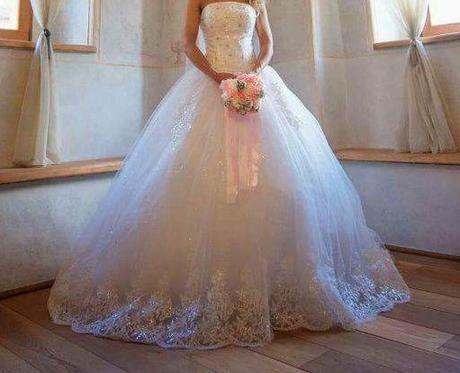 Princeznovské svadobné šaty 36-38, 36