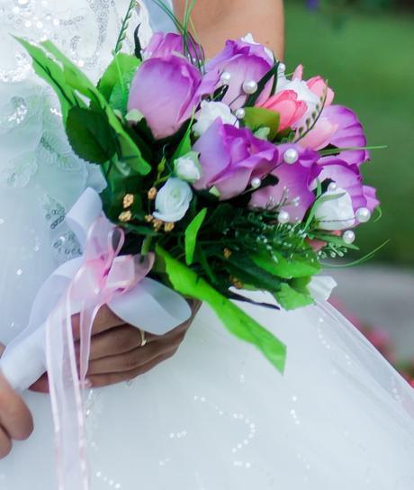 svadobná kytica,