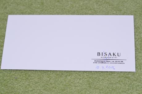 Voucher/poukázka na snubní prsteny BISAKU,
