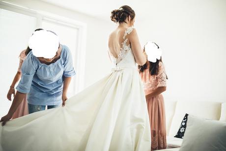 svadobné šaty značky st.patrick myrna , 36
