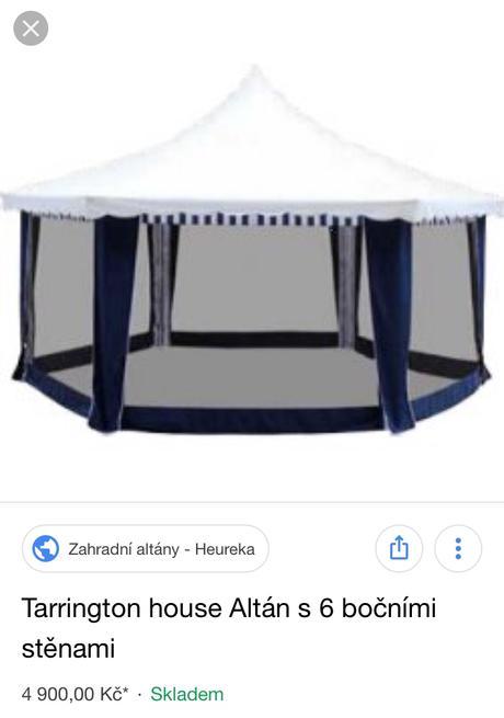 Venkovní altán TarringtonHouse,