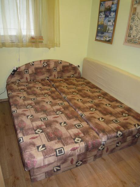 čalúnená manželská posteľ 160cm, alebo váľandy,