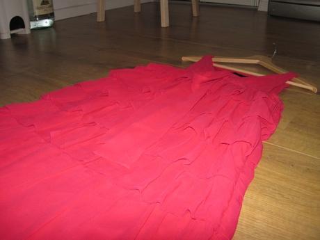 Volánikové šifónové šaty VERO MODA, 38
