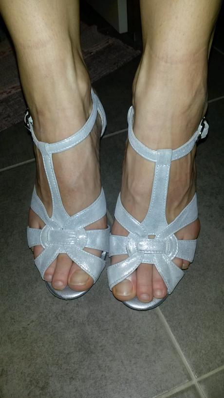 Spoločenské sandálky, 37