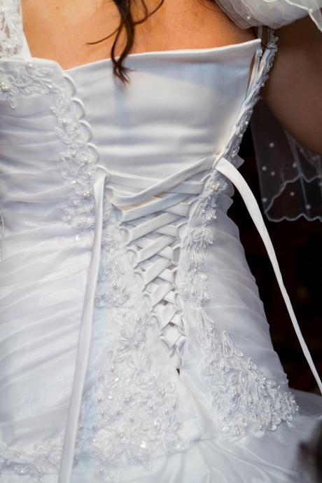 Svadobné šaty - super cena, 38